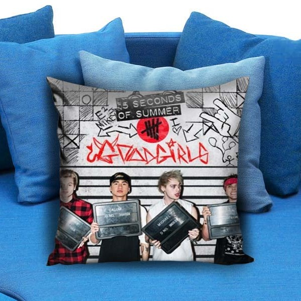 5 SOS Band Pillow Case