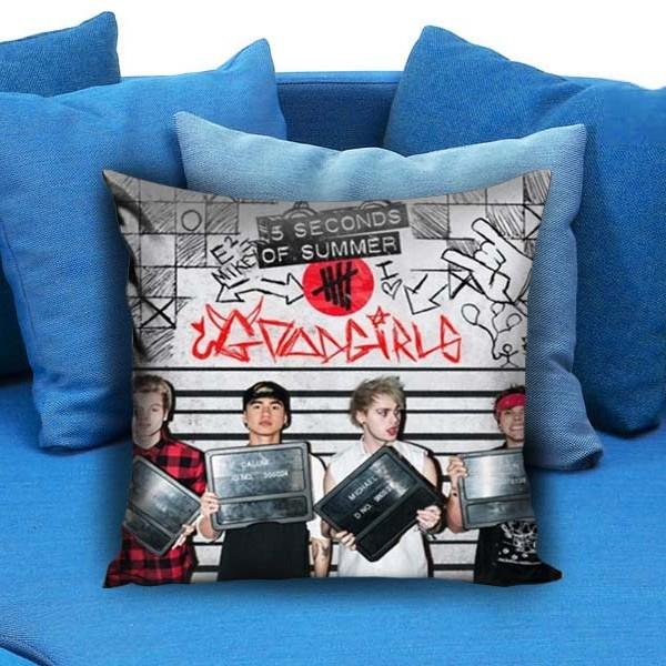 5 SOS Band Pillow Case