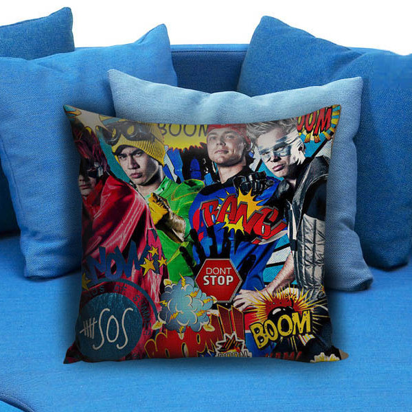 5 Sos Dont stop 5 Seconds of Summer Beautiful Pillow Case