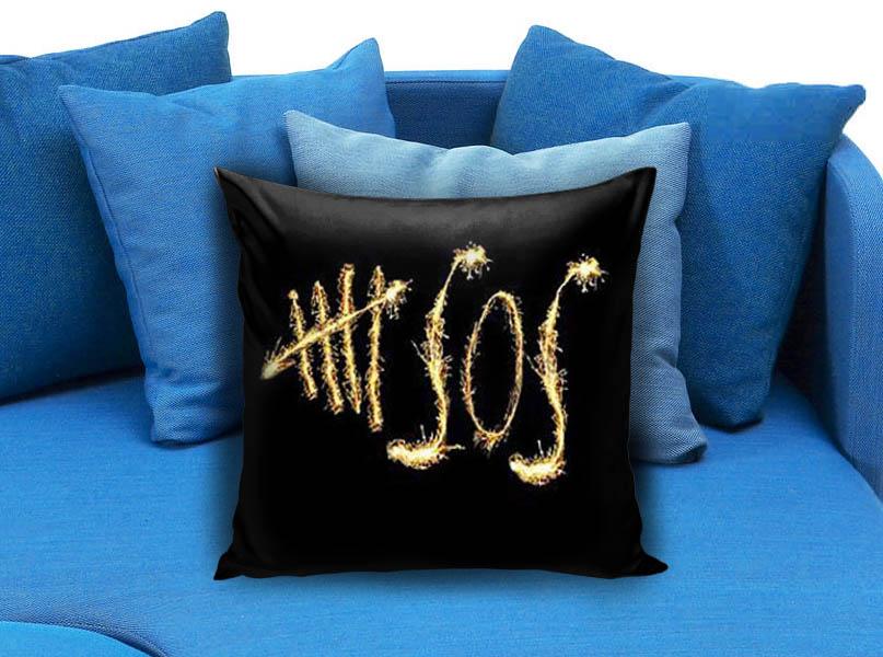 5 seconds of summer 5sos pillow case