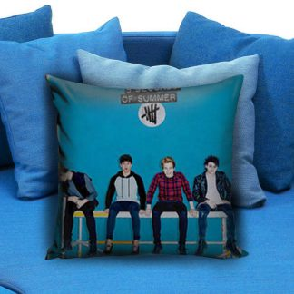 5sos 5 Seconds of Summer Album Cover Pillow Case
