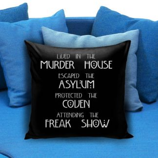 American Horror Story Pillow Case