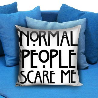 American horror story quote Pillow Case