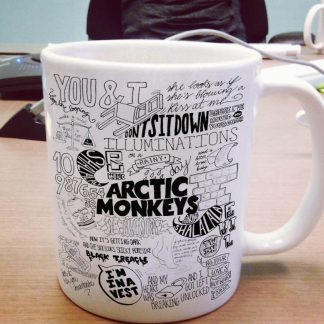 Arctic Monkeys mug