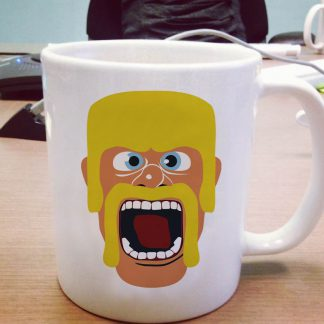 Barbarian mug Clash of Clans Game