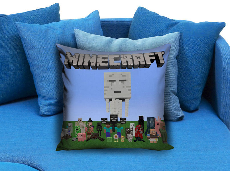 Minecraft Creeper Pillow Case Brick Game Pillowmug Com