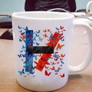 Butterfly Art Twenty One Pilots Logo Mug