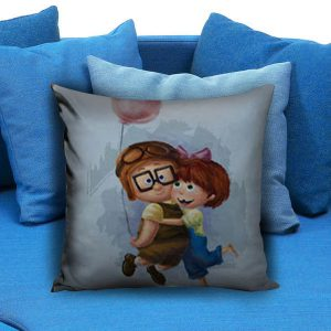 Carl and Ellie Up Pillow Case