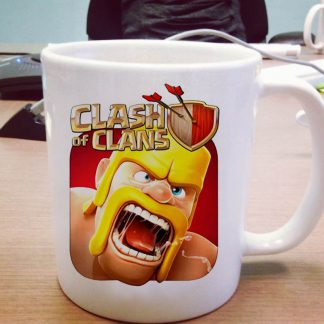 Clash of Clans One Size Ceramic 11oz sizes