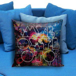Coldplay Mylo Xyloto logo Pillow Case