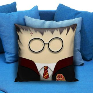 Cute Kawaii harry Potter Face Pillow Case