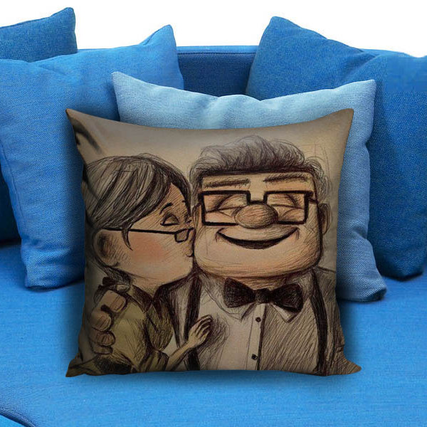 Disney Carl and Ellie Pillow Case