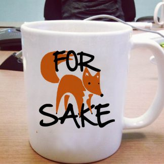 For Fox mug One Size Ceramic 11oz sizes