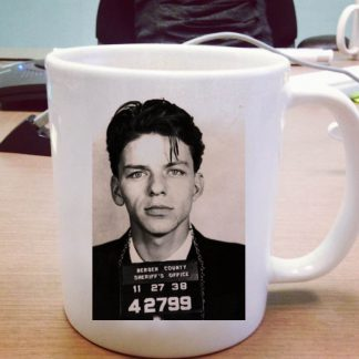 Frank Sinatra Mugshot One Size Ceramic 11oz sizes