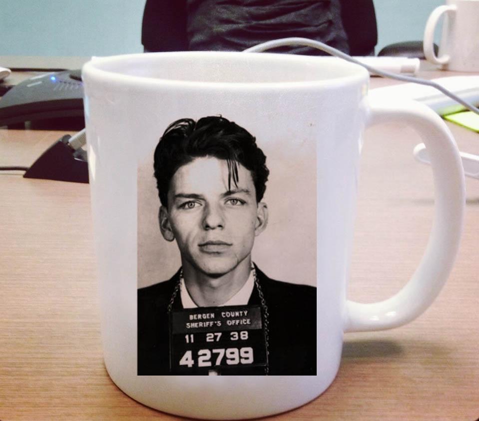 frank sinatra mugshot - frank sinatra mugshot ceramic mug pillowmugcom