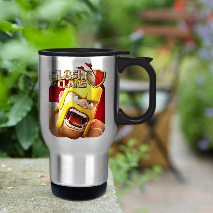 Gift custom mug Clash of Clans custom cup for family and friends