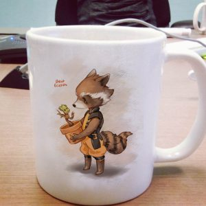 Groot and Rocket Racoon One Size Ceramic 11oz sizes