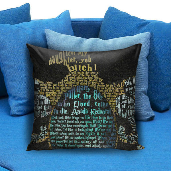 Harry potter deathly hallows Movie Pillow Case
