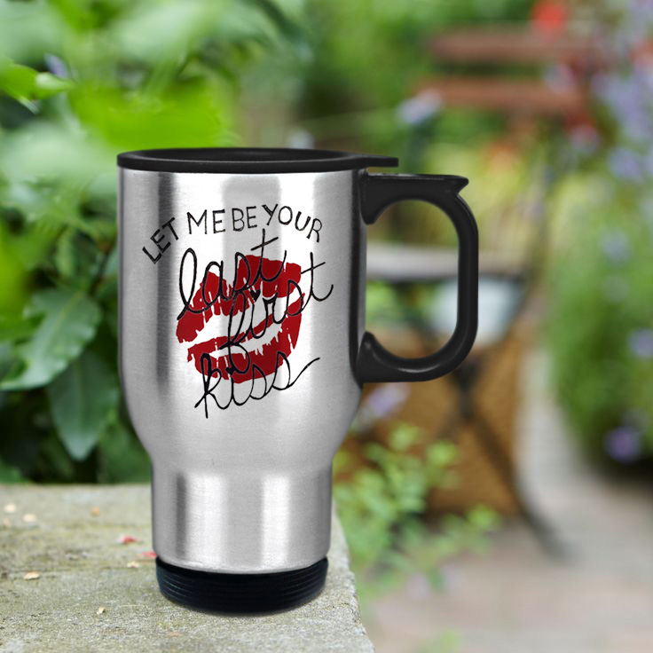 Let me be your firt kiss 1D Design mug