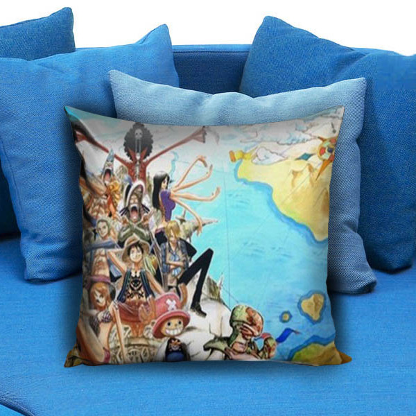 One Piece Anime Manga New World Pillow Case