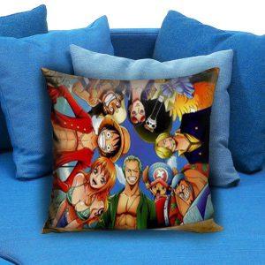 One Piece Anime Manga Pillow Case