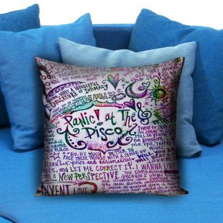 Panic at the disco Pillow Case
