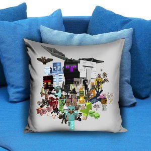 all character minecraft Pillow Case
