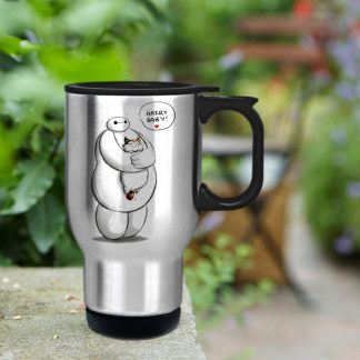 baymax hairy baby hero mug