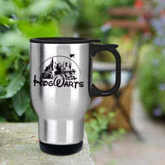 hogwarts castle as disney castle mug design