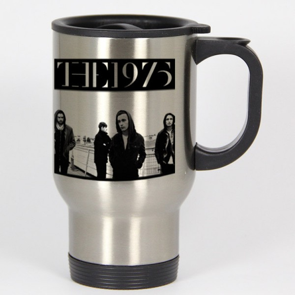 The 1975 band travel mugs coffee mug tea mug Size 14oz One Size Stainless Steel