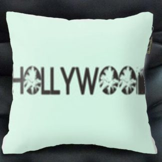 hollywood pillow mint green