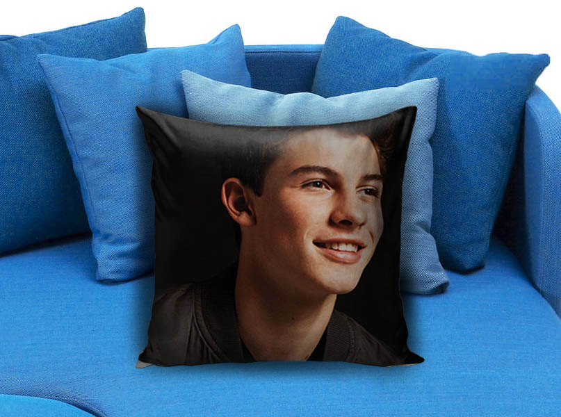Smile Shawn Mendes Pillow Case Pillowmug Com