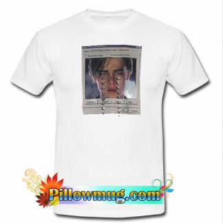 leonardo crying windows T shirt