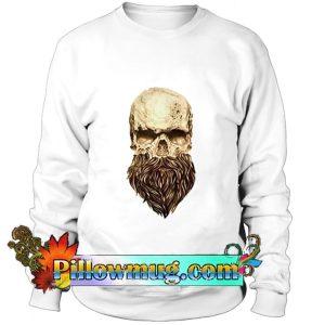 A skull and a beard Sweatshirt