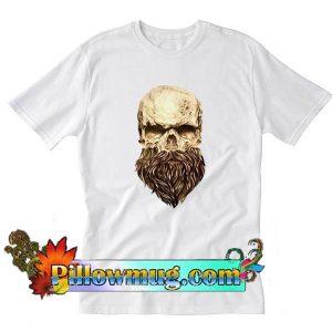 A skull and a beard T-Shirt