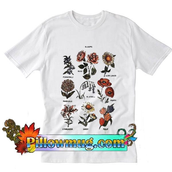 Blooms Flowers T-Shirt