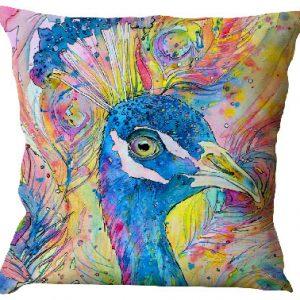 Peacock face Pillow case