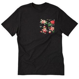 Red & Black Vintage Rose