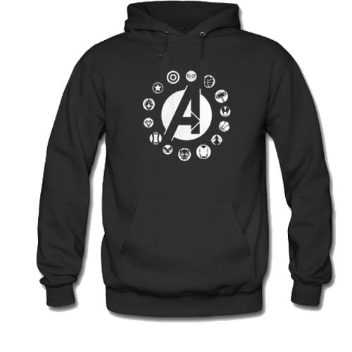 Avengers team logo Hoodie SU