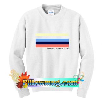 Biarritz France 1990 Sweatshirt SU