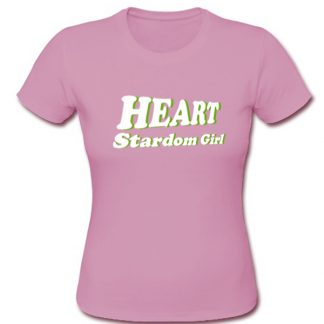 Heart Stardom Girl t shirt SU