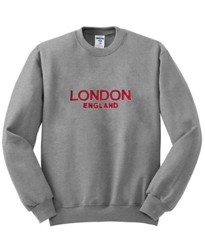 London England Sweatshirt SU
