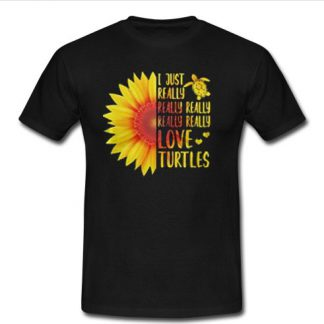 Sunflower I just really really really really really love turtles SU