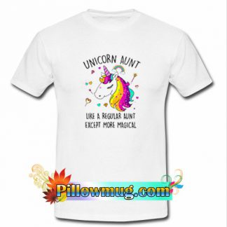 UNICORN AUNT T Shirt SU