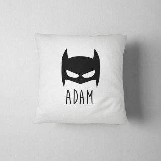 Batman Pillow, Boys Room Decor, Pillow Cases, Living Room Decor, Floor Pillow, Garden Decor, Kids Room Decor, Rustic Home Decor