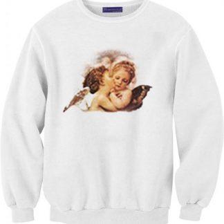 Angel and devil baby sweatshirt AY