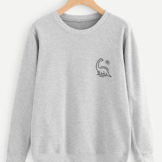 Animal Print Sweatshirt AY