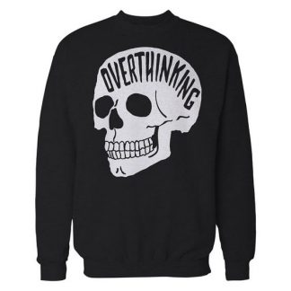 Anxiety Skull Sweatshirt. AY