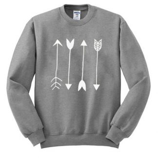 Arrows Graphic Sweatshirt AY